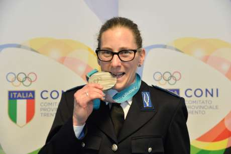 Il Comitato Provinciale celebra gli atleti ed i paratleti olimpici di PyeongChang, 18 aprile 2018 -Trento