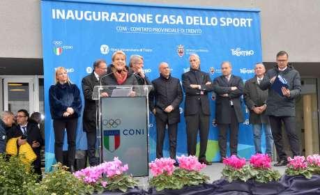Inaugurazione Casa dello Sport, 15 gennaio 2018 - Trento