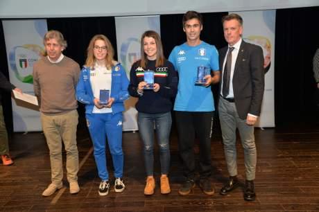 Onorificenze Sportive 2017, 19 novembre 2018 - Trento