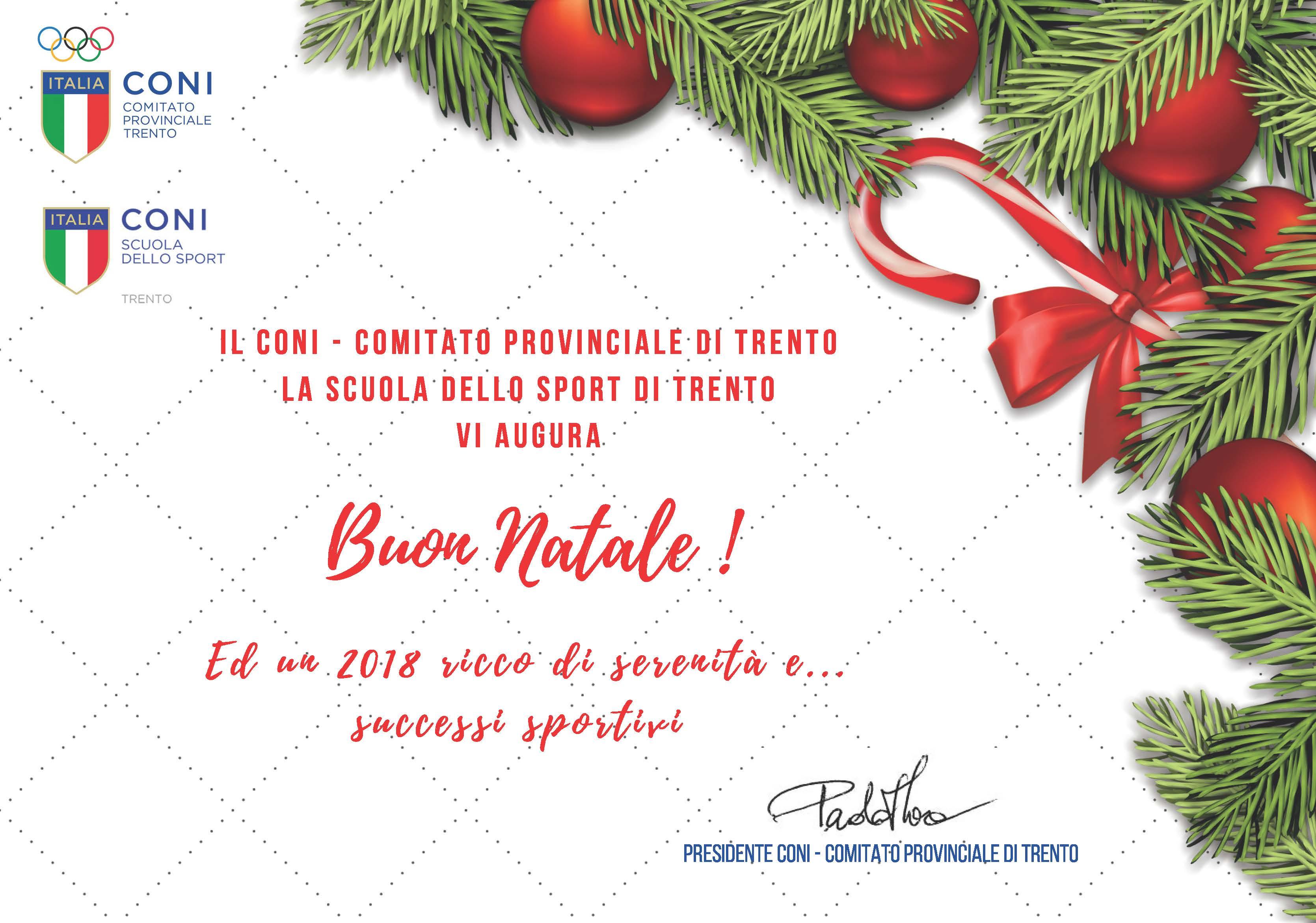 Auguri Di Natale Per Sportivi.Festivita Natalizie Chiusura Uffici
